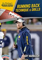 Cover: michigan football series: running back technique & drills