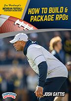 Cover: michigan football series: how to build & package rpos