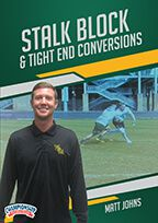 Cover: stalk block & tight end conversions