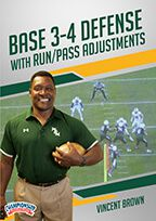 Cover: base 3-4 defense with run/pass adjustments