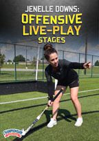 Cover: jenelle downs: offensive live-play stages