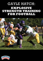 Cover: gayle hatch: explosive strength training for football
