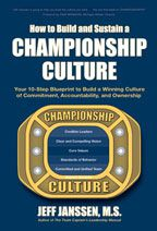 Cover: how to build and sustain a championship culture