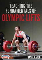 Cover: teaching the fundamentals of olympic lifts
