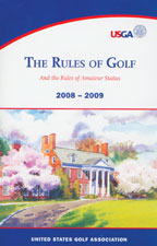 Cover: the rules of golf, 2008-09