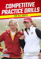 Cover: competitive practice drills for all shots