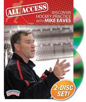 Cover: all access wisconsin hockey practice