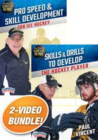 Cover: paul vincent's secrets of the pros hockey 2-pack