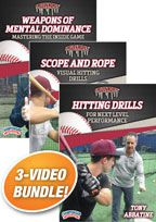 Cover: frozen ropes hitting skills and drill series