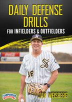 Cover: daily defense drills for infielders & outfielders
