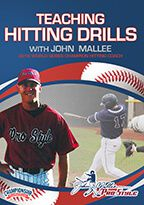 Cover: teaching hitting drills with john mallee