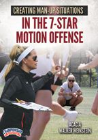 Cover: creating man-up situations in the 7-star motion offense