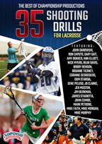 Cover: the best of championship productions: 40 shooting drills for lacrosse