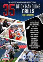 Cover: the best of championship productions: 35 stick handling drills for lacrosse