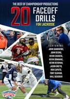 Cover: the best of championship productions: 25 face-off drills for lacrosse