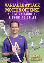 Cover: variable attack motion offense with stick handling & shooting drills