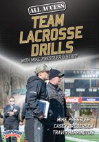 Cover: all access practice: team lacrosse drills with mike pressler & staff