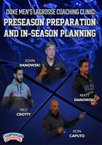 Cover: duke men's lacrosse coaching clinic: preseason preparation and in-season planning