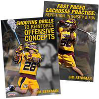 Cover: jim berkman's high energy lacrosse practice 2-pack