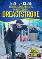 Cover: best of club swimming: technical progressions for successful breaststroke