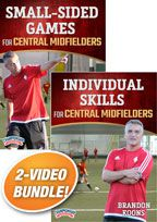 Cover: drills for central midfielders 2-pack