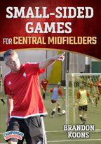 Cover: small sided games for central midfielders