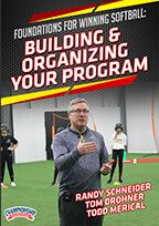 Cover: foundations for winning softball: building & organizing your program
