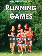 Cover: running games for track & field and cross country
