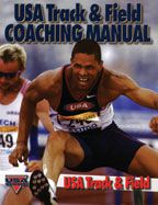 Cover: usa track & field coaching manual