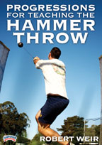 Cover: progressions for teaching the hammer throw