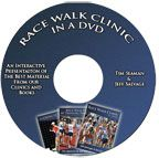 Cover: race walk clinic - in a dvd