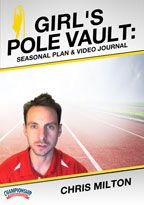 Cover: online seasonal training plan: girl's pole vault