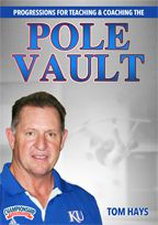Cover: progressions for teaching and coaching the pole vault