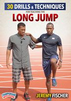 Cover: 30 drills & techniques for teaching the long jump