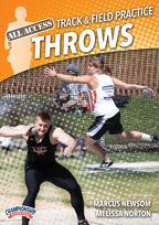 Cover: all access wartburg track & field practice: throws