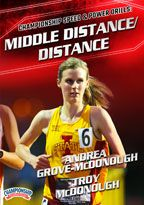 Cover: championship speed and power drills: middle distance/distance