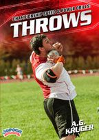 Cover: championship speed and power drills: throws