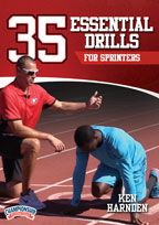 Cover: 35 essential drills for sprinters