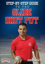 Cover: step-by-step guide to the glide shot put