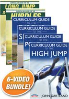 Cover: curriculum guide to track & field
