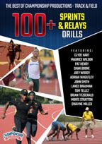 Cover: the best of championship productions - track & field: 100+ sprints & relays drills