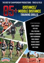 Cover: the best of championship productions - track & field: 85+ distance/middle distance training drills