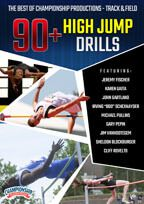 Cover: the best of championship productions - track & field: 90+ high jump drills