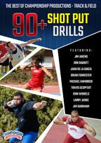 Cover: the best of championship productions - track & field: 90+ shot put drills