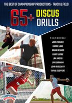 Cover: the best of championship productions - track & field: 65+ discus drills