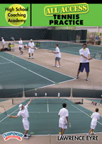Cover: high school coaching academy: all access tennis practice