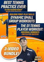 Cover: brian boland's championship tennis workout 3-pack