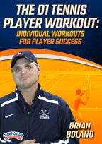 Cover: the d1 tennis player workout: individual workouts for player success