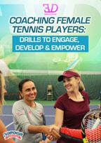 Cover: coaching female tennis players: drills to engage, develop & empower
