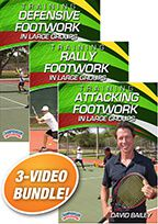 Cover: david bailey's training footworktennis series